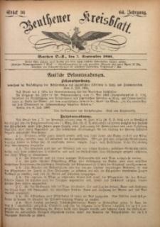 Beuthener Kreisbatt, 1906, Jg. 64, St. 36