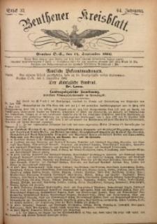 Beuthener Kreisbatt, 1906, Jg. 64, St. 37