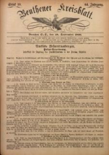 Beuthener Kreisbatt, 1906, Jg. 64, St. 39