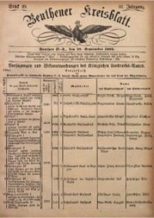 Beuthener Kreisbatt, 1893, Jg. 51, St. 39
