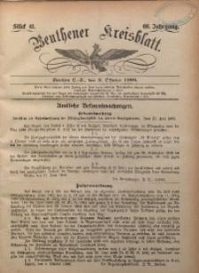 Beuthener Kreisbatt, 1908, Jg. 66, St. 41
