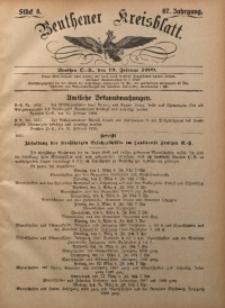Beuthener Kreisbatt, 1909, Jg. 67, St. 8