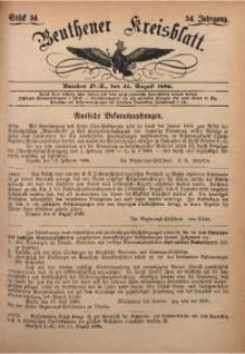 Beuthener Kreisbatt, 1896, Jg. 54, St. 34