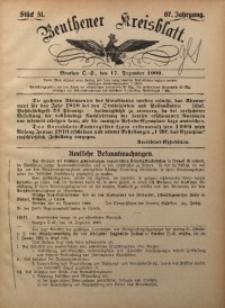 Beuthener Kreisbatt, 1909, Jg. 67, St. 51