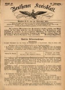 Beuthener Kreisbatt, 1897, Jg. 55, St. 48