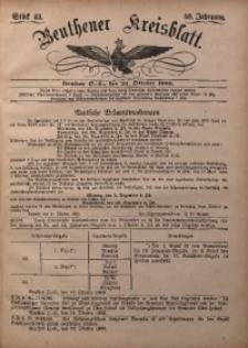Beuthener Kreisbatt, 1900, Jg. 58, St. 43