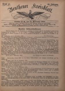 Beuthener Kreisbatt, 1900, Jg. 58, St. 47