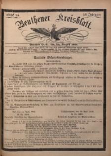 Beuthener Kreisbatt, 1901, Jg. 59, St. 35