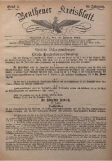 Beuthener Kreisbatt, 1902, Jg. 60, St. 2