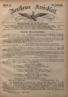 Beuthener Kreisbatt, 1902, Jg. 60, St. 35