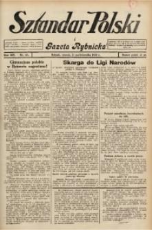 Sztandar Polski i Gazeta Rybnicka, 1932, R. 14, Nr. 117