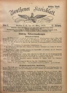 Beuthener Kreisblatt, 1914, Jg. 72, St. 11