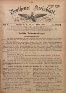 Beuthener Kreisblatt, 1914, Jg. 72, St. 16