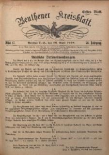 Beuthener Kreisblatt, 1918, Jg. 76, St. 17