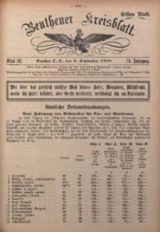 Beuthener Kreisblatt, 1918, Jg. 76, St. 36