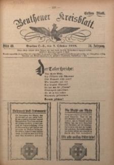 Beuthener Kreisblatt, 1918, Jg. 76, St. 40