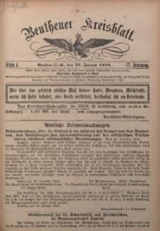 Beuthener Kreisblatt, 1919, Jg. 77, St. 4