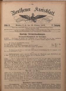Beuthener Kreisblatt, 1919, Jg. 77, St. 41