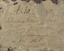 Księga urodzeń, małżeństw i zgonów Pilica 1826
