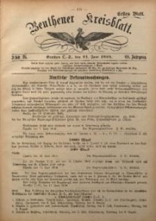 Beuthener Kreisblatt, 1910, Jg. 68, St. 25