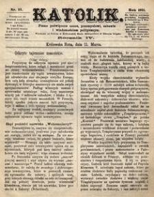 Katolik, 1871, R. 4, nr 11