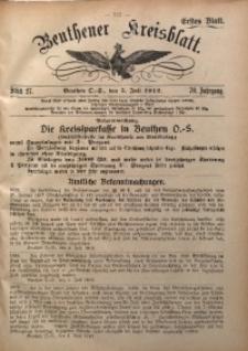 Beuthener Kreisblatt, 1912, Jg. 70, St. 27