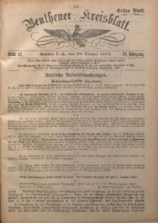 Beuthener Kreisblatt, 1912, Jg. 70, St. 42