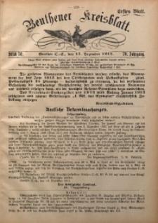 Beuthener Kreisblatt, 1912, Jg. 70, St. 50