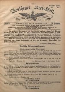 Beuthener Kreisblatt, 1913, Jg. 71, St. 50