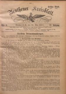 Beuthener Kreisblatt, 1915, Jg. 73, St. 21