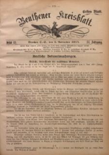 Beuthener Kreisblatt, 1915, Jg. 73, St. 45