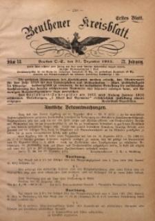 Beuthener Kreisblatt, 1915, Jg. 73, St. 53