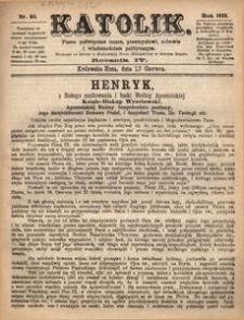 Katolik, 1871, R. 4, nr 25