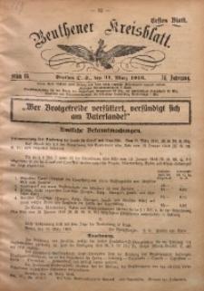 Beuthener Kreisblatt, 1916, Jg. 74, St. 13