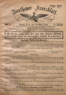 Beuthener Kreisblatt, 1916, Jg. 74, St. 16