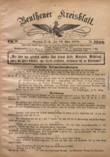 Beuthener Kreisblatt, 1916, Jg. 74, St. 20