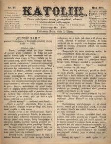 Katolik, 1871, R. 4, nr 27