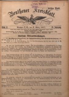 Beuthener Kreisblatt, 1917, Jg. 75, St. 10