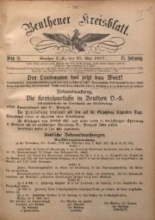 Beuthener Kreisblatt, 1917, Jg. 75, St. 21