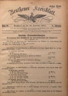 Beuthener Kreisblatt, 1917, Jg. 75, St. 46
