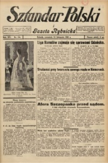 Sztandar Polski i Gazeta Rybnicka, 1932, R. 14, Nr. 136
