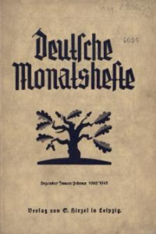 Deutsche Monatshefte in Polen, 1942, Jg. 9 (19), Heft 6/7/8