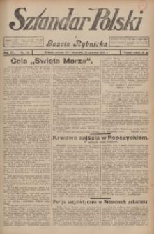 Sztandar Polski i Gazeta Rybnicka, 1933, R. 15, Nr. 72