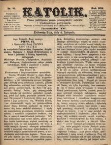 Katolik, 1871, R. 4, nr 45