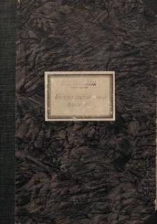 Księga inwentarzowa Biblioteki Zjednoczenia Polskich Zespołów Śpiewaczych i Instrumentalnych w Stalinogrodzie
