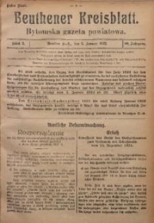 Beuthener Kreisblatt, 1922, Jg. 80, St. 2