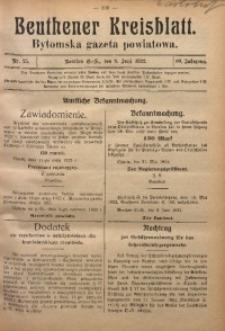 Beuthener Kreisblatt, 1922, Jg. 80, Nr. 25