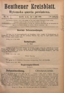 Beuthener Kreisblatt, 1922, Jg. 80, Nr. 29