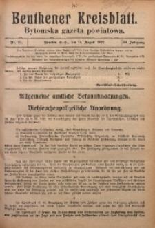 Beuthener Kreisblatt, 1922, Jg. 80, Nr. 35