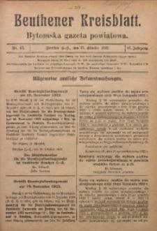 Beuthener Kreisblatt, 1922, Jg. 80, Nr. 47
